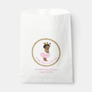 Ethnic Ballerina Princess Girl Baby Shower Favour Bags