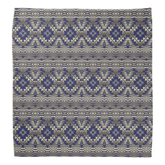 ethnic bohemian golden pattern bandana