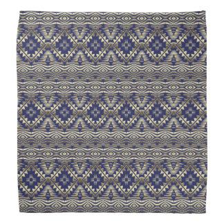 ethnic bohemian golden pattern kerchiefs