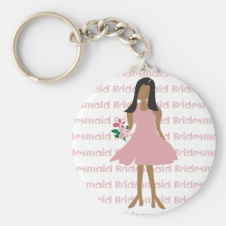 Ethnic Bridesmaid Favors Keychains