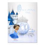 Ethnic Cinderella Once Upon a Time Princess 11 Cm X 16 Cm Invitation Card