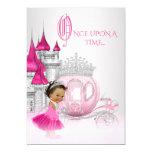 Ethnic Cinderella Princess Birthday Party 13 Cm X 18 Cm Invitation Card