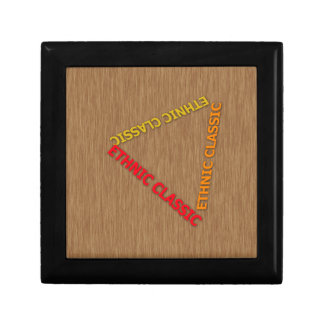 Ethnic Classic With Background wood Trinket Boxes