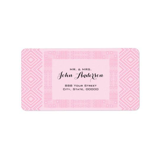 Ethnic Design Return Address Labels 2
