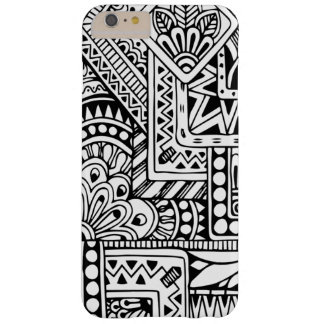 Ethnic Doodle Barely There iPhone 6 Plus Case