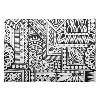Ethnic Doodle Placemat