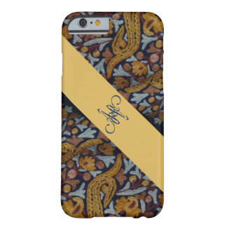 Ethnic Embroidered Monogram Autism Phone Case