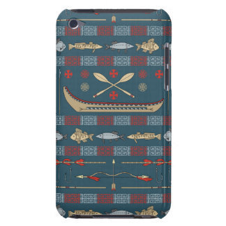 Ethnic Fishing Pattern iPod Touch Cover