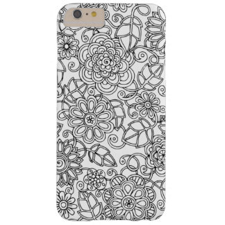 Ethnic Floral Doodle Barely There iPhone 6 Plus Case
