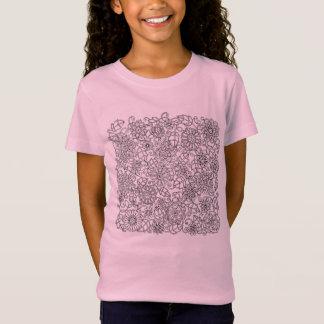 Ethnic Floral Doodle T-Shirt