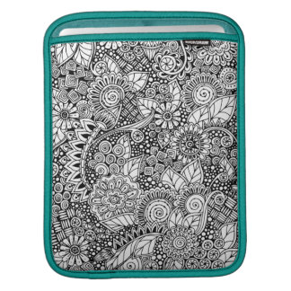 Ethnic Floral Inspired iPad Sleeve