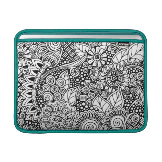 Ethnic Floral Inspired MacBook Sleeve