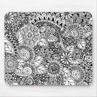 Ethnic Floral Inspired Mouse Mat