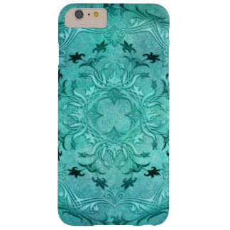 Ethnic floral turquoise grunge mandala barely there iPhone 6 plus case