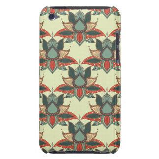 Ethnic flower lotus mandala ornament iPod Case-Mate cases