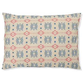 Ethnic Geometric Pattern Pet Bed