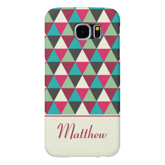 Ethnic Geometric Triangles Pattern Personalized