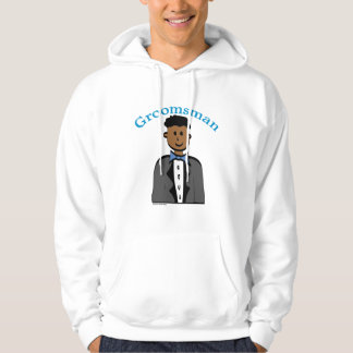 Ethnic Groomsman Hooded Pullovers