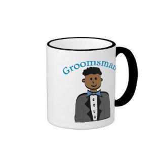 Ethnic Groomsman Ringer Mug