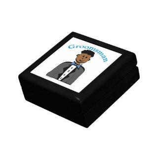 Ethnic Groosman Trinket Box