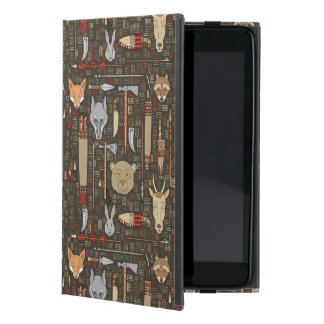 Ethnic Hunting Pattern Case For iPad Mini