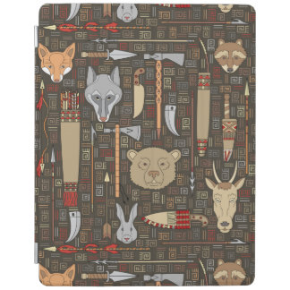 Ethnic Hunting Pattern iPad Cover