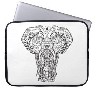 Ethnic Indian Elephant Laptop Sleeve