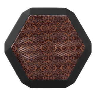 Ethnic modern geometric pattern 2 black bluetooth speaker