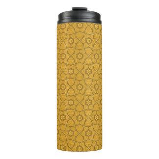 Ethnic modern geometric pattern 3 thermal tumbler