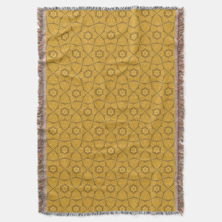 Ethnic modern geometric pattern 3 throw blanket