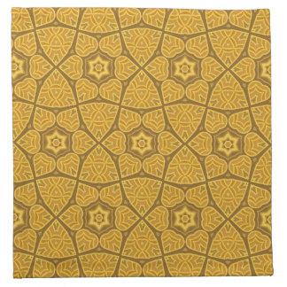 Ethnic modern geometric pattern napkin
