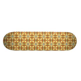 Ethnic Moroccan Motifs Seamless Pattern 6 Custom Skate Board