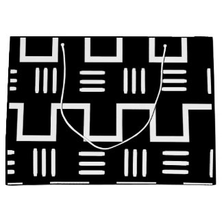 Ethnic Mud Cloth gift bag