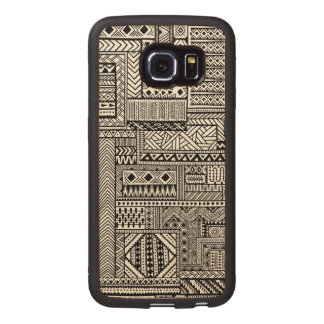 Ethnic Ornament Wood Phone Case