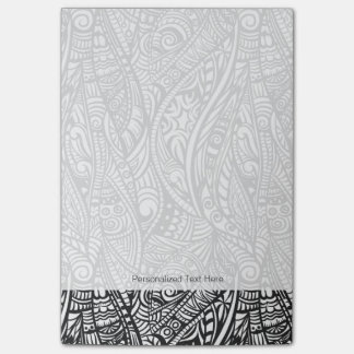 Ethnic pattern 3 post-it notes