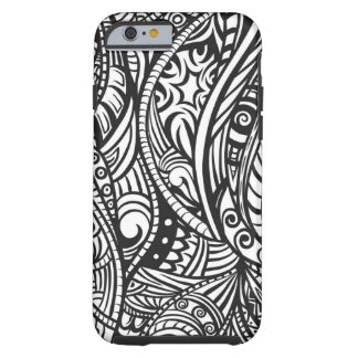 Ethnic pattern 3 tough iPhone 6 case