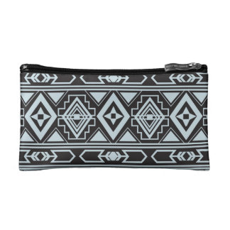 Ethnic pattern american traditional ornament cosmetic bag