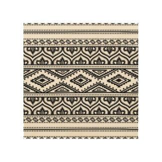 Ethnic Pattern Design 5 Wood Print