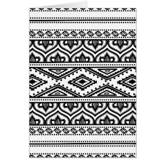 Ethnic Pattern Design Card