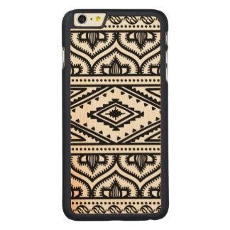Ethnic Pattern Design Carved® Maple iPhone 6 Plus Case