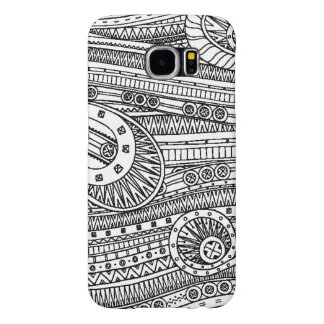 Ethnic Pattern Doodle Samsung Galaxy S6 Cases