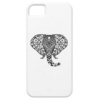 Ethnic Pattern Elephant iPhone 5 Case