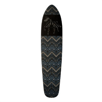 Ethnic pattern with american ornament 20 cm skateboard deck