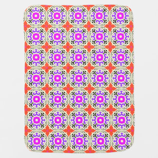 Ethnic Pattern with Moroccan Motifs Baby Blanket