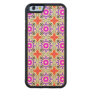 Ethnic Pattern with Moroccan Motifs Maple iPhone 6 Bumper Case