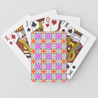 Ethnic Pattern with Moroccan Motifs Playing Cards