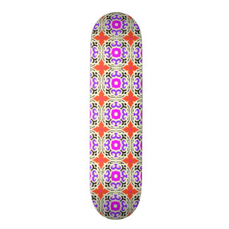 Ethnic Pattern with Moroccan Motifs Skateboards