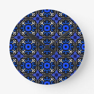 Ethnic Pattern with Turkish Motifs Round Clock