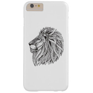Ethnic Patterned Lion Head Barely There iPhone 6 Plus Case