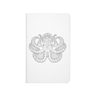 Ethnic Patterned Octopus Journal